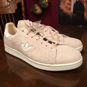 New Adidas Suede Stan Smith Linen